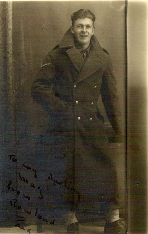 Bombadier Rowland Skirrow, 1945